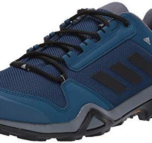 adidas outdoor Men's Terrex AX3 Hiking Boot, Legend Marine/Black/Onix, 11 M US