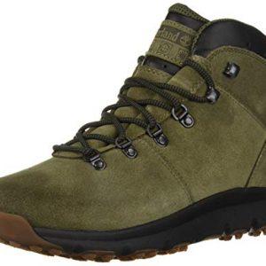 Timberland Men's World Hiker Mid Ankle Boot, Dark Green