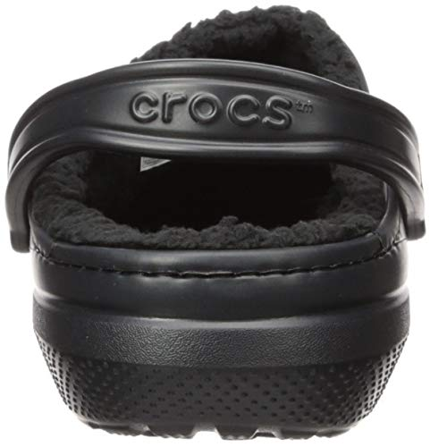 Crocs Classic Lined Clog Mule, Black WARM AND FUZZY FEELINGS INSIDE: Designed with operate and heat in thoughts, the smooth and lined Crocs for women and men are nice as a slipper but additionally good for working errands SAME CLASSIC FIT: The similar legendary clogs with a toasty lined fuzz are the Crocs men and women have to maintain the sensation going all season; Traditional heel straps provide you with a safe match or step in and go consolation CRADLING COMFORT: Incredibly gentle and straightforward to put on, the Crocs clogs for men and women are created with Croslite foam, providing Dual Crocs Comfort that's blissfully supportive, smooth and cradling MAKE THEM YOUR OWN: These ladies's and males's Crocs supply a roomy and beneficiant match that's certain to match your foot; The Crocs clogs will be custom-made with Jibbitz charms to replicate your individual private aptitude CROCS FOR WOMEN AND MEN: The fuzz lined Classic Crocs are enjoyable to put on in and out; The choices are limitless once you broaden your wardrobe with these fuzzy clogs Crocs Classic Lined Clog Mule, Black, 11 US Men / 13 US Women.