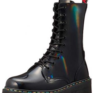 Dr. Martens Women's Jadon Eye Boots, Black Rainbow