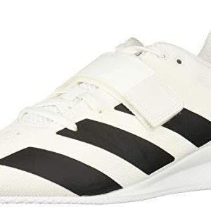 adidas Men's Adipower Weightlifting II Cross Trainer, Black/White, 14 M US
