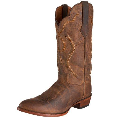 Dan Post Men's Albany Western Boot,Tan,9EW