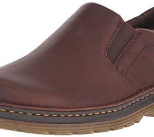 Dr. Martens Men's Boyle Slip-On Loafer, Dark Brown