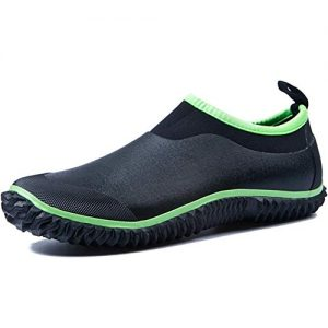 SAGUARO Womens Waterproof Garden Shoes Mens Slip-on Neoprene Car