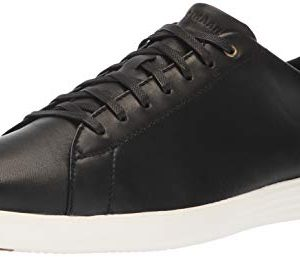 Cole Haan Men's Grand Crosscourt II Sneaker, Black/Optic White