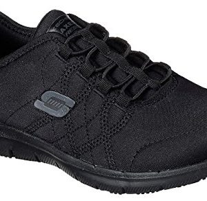 Skechers Work Womens Ghenter - Srelt Black Jersey Mesh/Trim Oxford