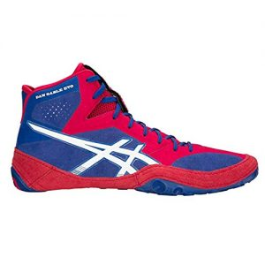 asics Dan Gable Evo Men's Wrestling Shoes, Asics Blue/White