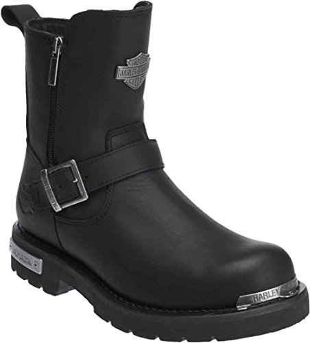 HARLEY-DAVIDSON Men's Startex Motorcycle Boot, Black