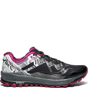 Saucony Peregrine 8 ICE+ Women 6.5 Black | White