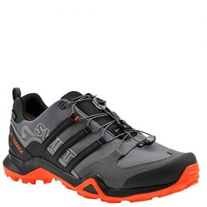 adidas outdoor Terrex Swift Mens Hiking Boot Grey Five/Black/Active Orange