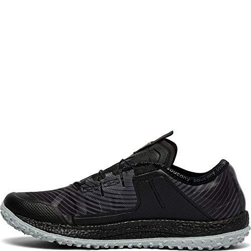 Saucony Men's Switchback ISO Trail Running Shoe, Black/Grey Saucony Men's Switchback ISO Trail Running Shoe, Black/Grey, 10 M US.