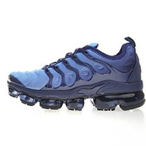 Yuyou Men's Sneakers Sports Air Cushion Lightweight Plus Tn Running Fitness Training Shoes Navy Blue/Black