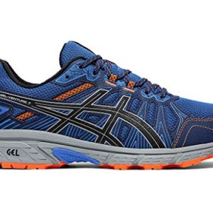 ASICS Men's Gel-Venture 7 Running Shoes, 12M, Electric Blue/Sheet Rock