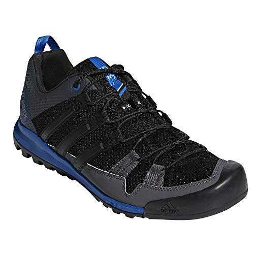 adidas outdoor Men's Terrex Solo Black/Black/Blue Beauty