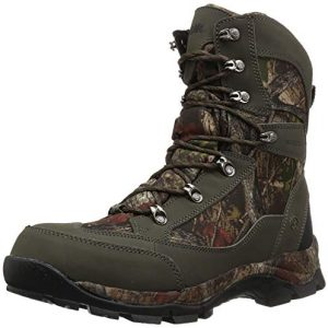 Northside Men's Buckman 400 Backpacking Boot, Dark Olive, 8.5 Medium US
