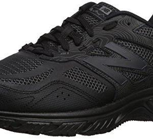 New Balance Men's 510v4 Cushioning Trail Running Shoe, Black, 12 4E US