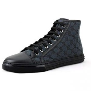 Gucci Men's Original GG Canvas High-top Sneakers
