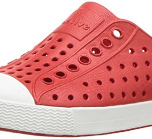 Native Kids Jefferson Child Water Proof Shoes, Torch Red/Shell White