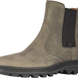 Sorel Mens Ace Chelsea Waterproof Boot, Quarry/Black