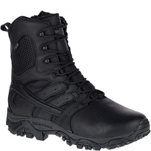 "Merrell Work Men's Moab 2 8"" Tactical Response Waterproof Black"