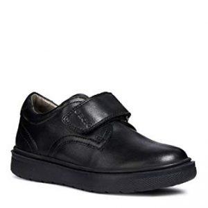 Geox RIDDOCK BOY 4 Velcro Dress Sneaker Shoe School Uniform