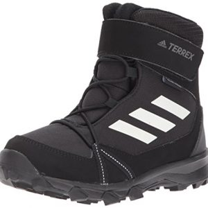 adidas Outdoor Unisex-Kid's Terrex Snow Boot, Black/chalk White/Grey Four
