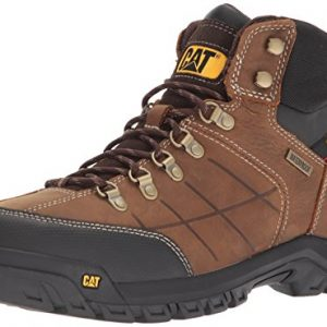 Caterpillar Men's Threshold Waterproof Industrial Boot, Brown