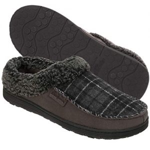 Dearfoams Indoor/Outdoor Men's Clog Slipper
