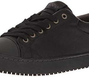 MOZO Men's Grind Food Service Shoe, Black
