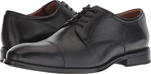 Florsheim Men's Amelio Cap Toe Oxford Black Smooth