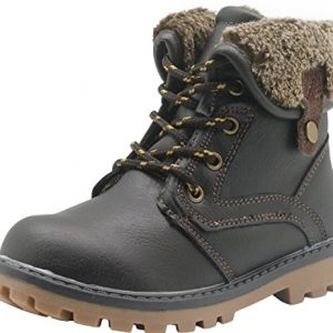 Apakowa New Boy's Winter Martin Boots (Toddler/Little Kid)
