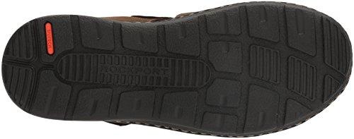 Rockport Men's Darwyn Fishermen Sandal, Brown Ii Leather Rockport Men's Darwyn Fishermen Sandal, Brown Ii Leather, 11 M US.