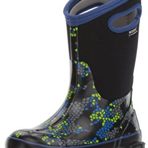 BOGS Kids' Classic High Waterproof Insulated Rubber Neoprene Rain Boot Snow