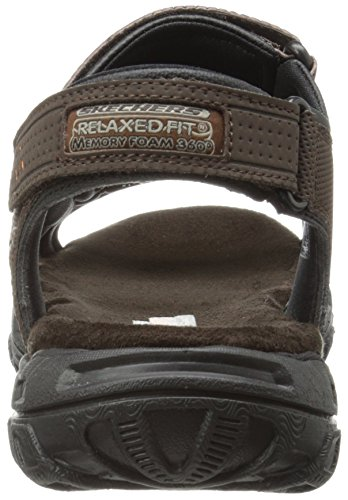 Skechers USA Men's Louden Fisherman Sandal Skechers USA Men's Louden Fisherman Sandal, Brown, 11 M US.