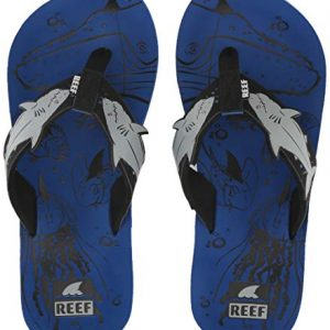 Reef Unisex-Kid's AHI Sandal, Blue Shark