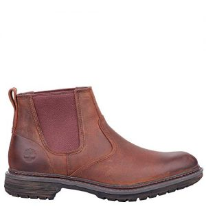 Timberland Men's Logan Bay Chelsea Boot, Brown