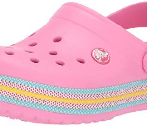 Crocs Crocband Sport Cord Clog, Pink Lemonade