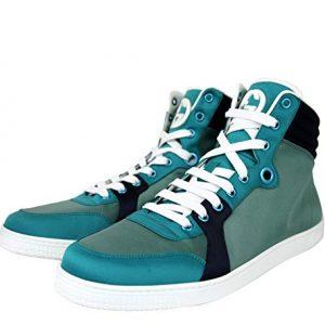 Gucci High top Multicolor Satin Fabric Sneaker
