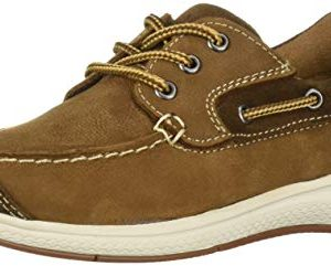 Florsheim Kids Boys' Great Lakes Jr. Moc Toe Slip On Oxford