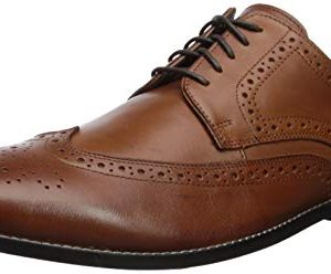 Nunn Bush Men's Nelson Wing Tip Oxford Dress Casual Lace-Up
