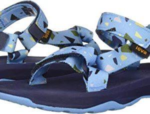 Teva Boys' K Hurricane XLT 2 Print Sport Sandal, TERRAZO Blue