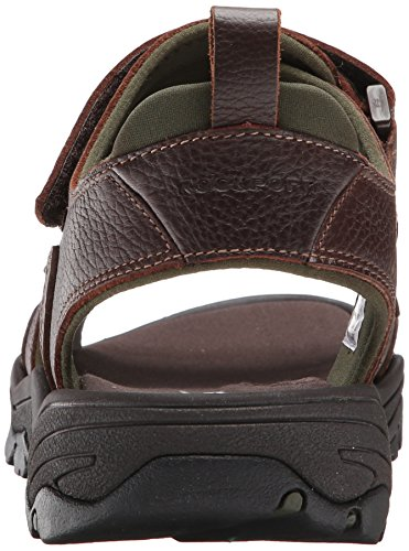 Rockport Men's Rocklake Flat Sandal, Brown/Brown Rockport Men's Rocklake Flat Sandal, Brown/Brown, 11 M US.