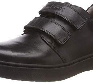 Geox RIDDOCK BOY 5 Velcro Dress Sneaker Shoe School Uniform