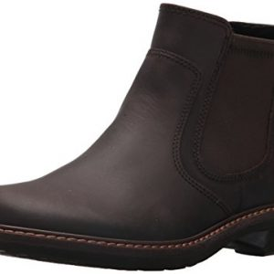 ECCO Men's Turn Gore-tex Chukka Chelsea Boot, Mocha Oil Nubuck