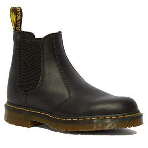 Dr. Martens - Unisex Slip Resistant Service Boots, Black