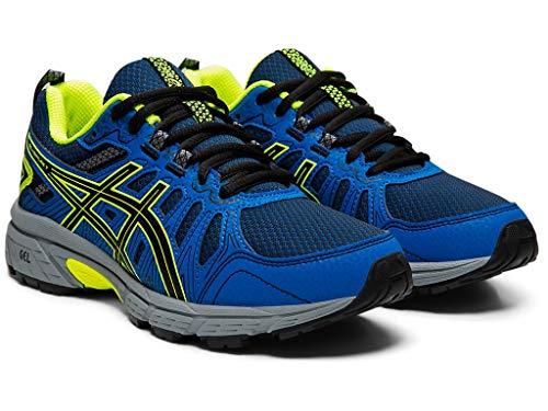 ASICS Kid's Gel-Venture 7 GS Running Shoes ASICS Kid's Gel-Venture 7 GS Running Shoes, 6.5M, Black/Safety Yellow.
