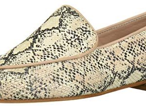 KAANAS Women's CARMENERE Snake Loafer Flat Fashion Shoe