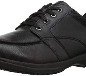 Nunn Bush Men Stefan Food Service Shoe Black