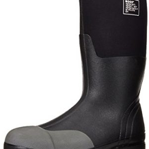 Bogs Men's Forge Tall Industrial Steel Toe Work Rain Boot