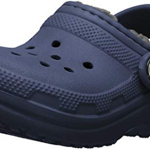 Crocs Classic Lined Clog, Navy/Charcoal